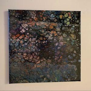 """Haunting"" Original Pour Painting"